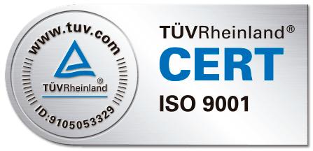 Certificació de Gestió de Qualitat ISO 9001:2015. Referència: 0.04.09170.